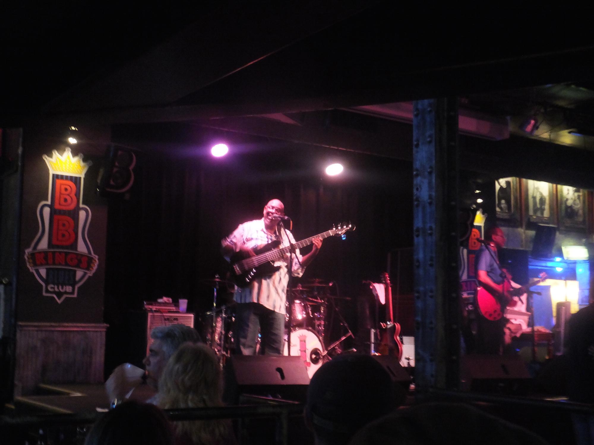 Passage obligatoire au BB King's blues club. Excellents musiciens