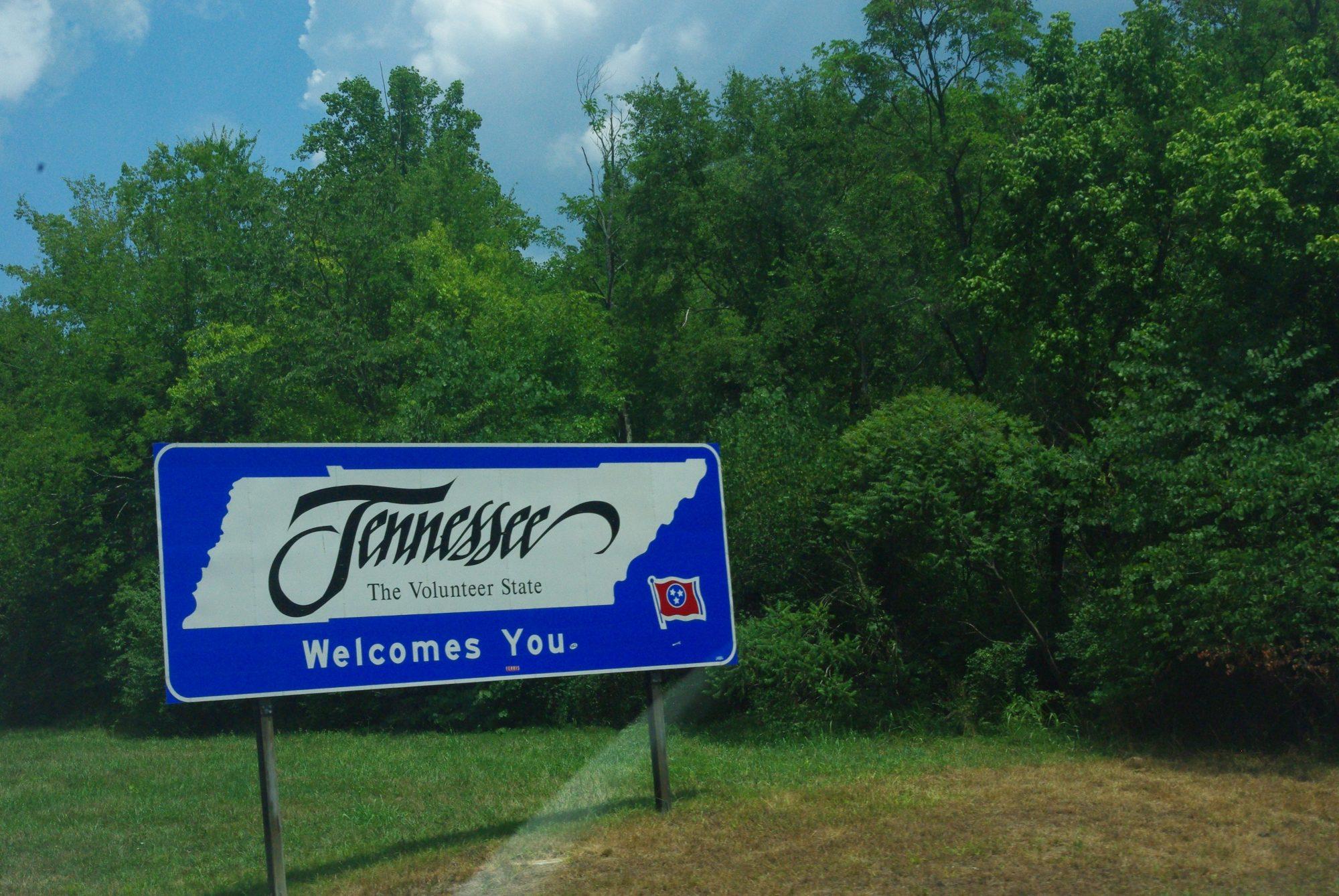 Passage de l'état de Georgia (on my mind) vers le Tennessee (on a tous quelque chose en nous de lui ...)