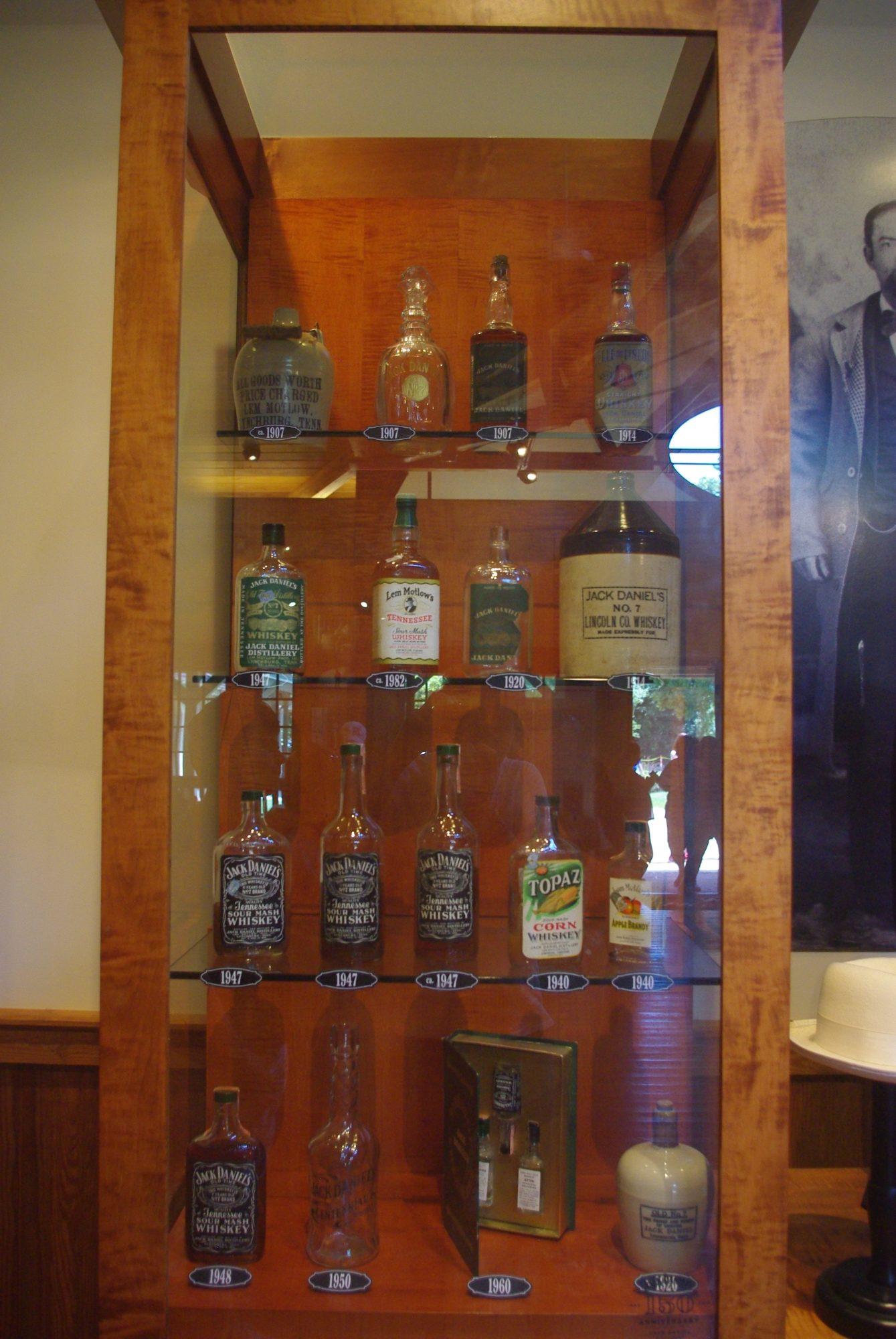 Quelques vieilles bouteilles