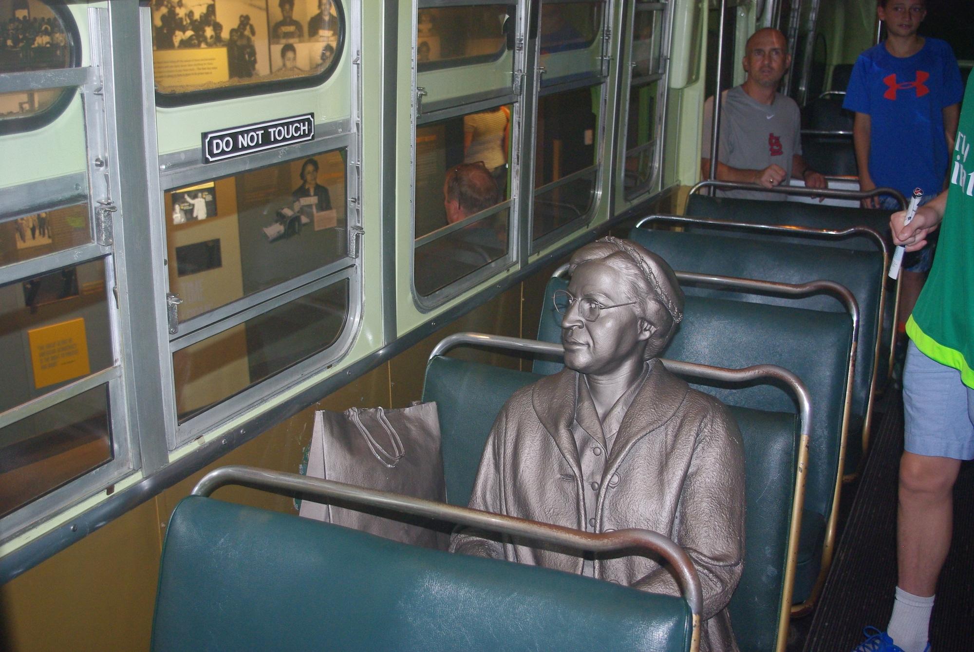 L'intérieur du bus