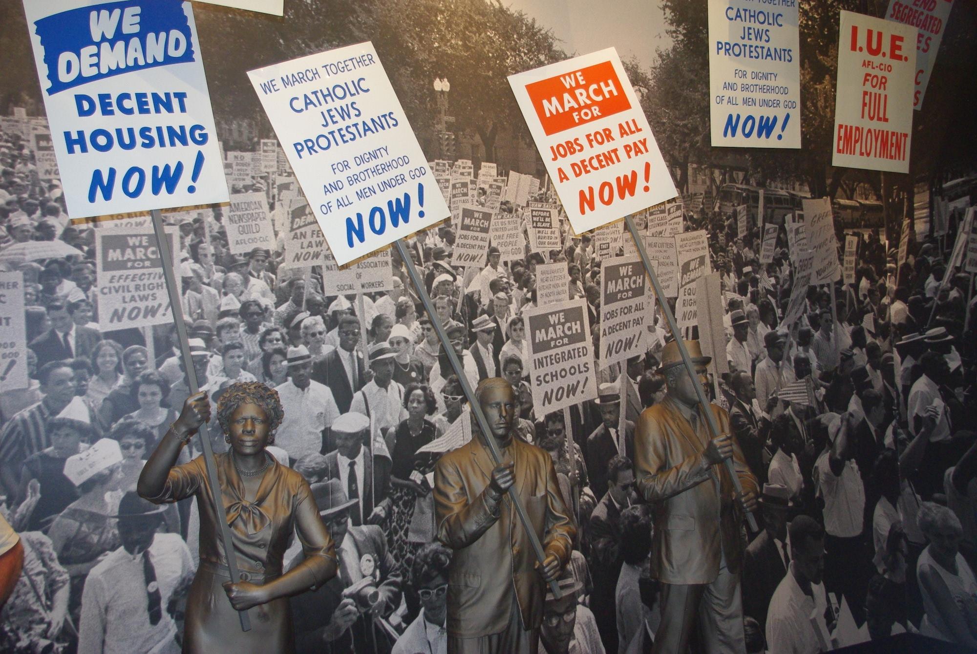 L'histoire de la lutte pour les droits civiques