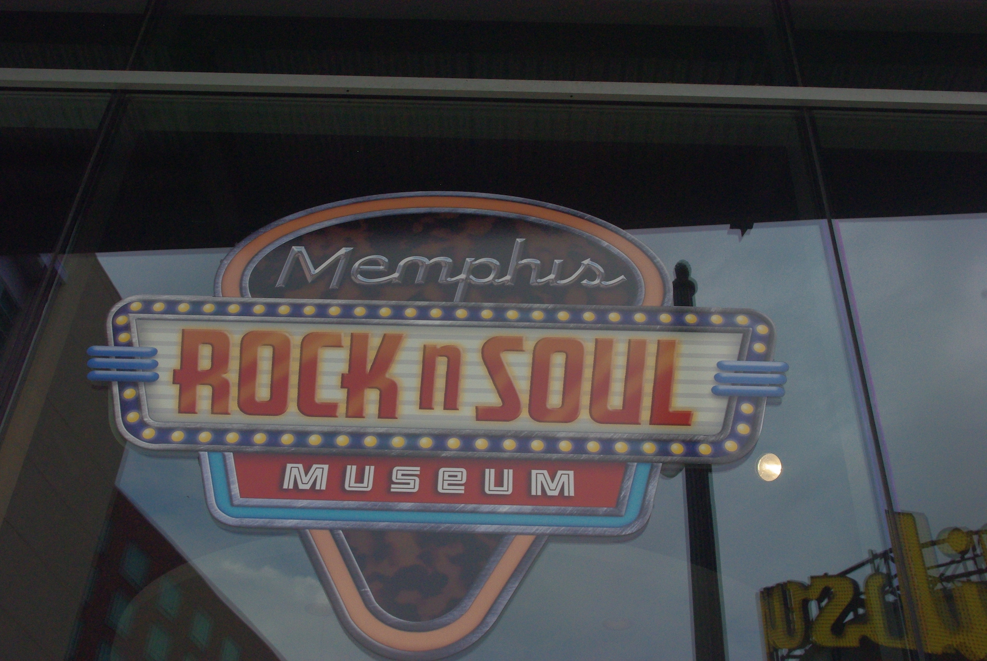 Petit musée sur la vie musicale à Memphis