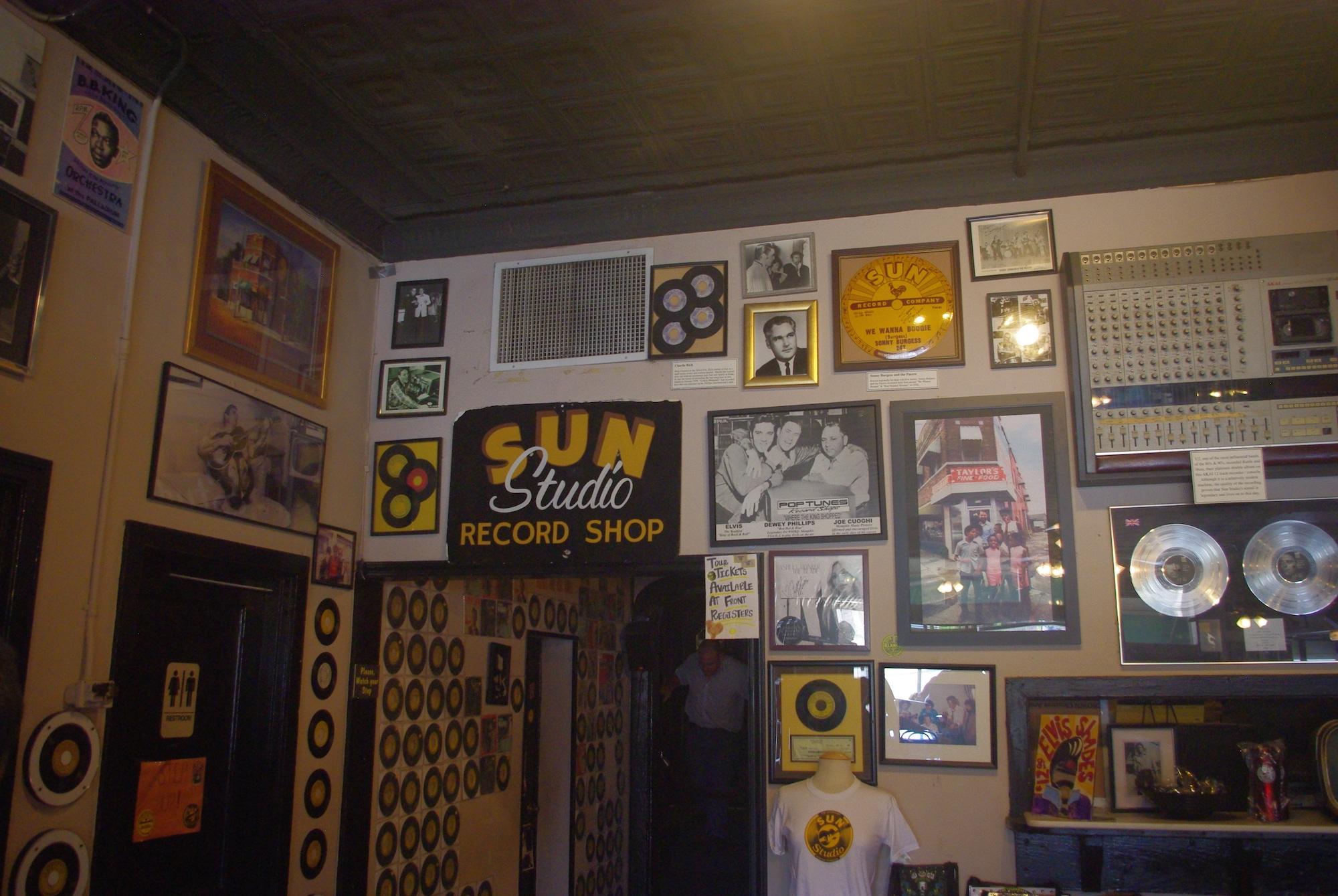Un vrai musée du Rock'n'Roll