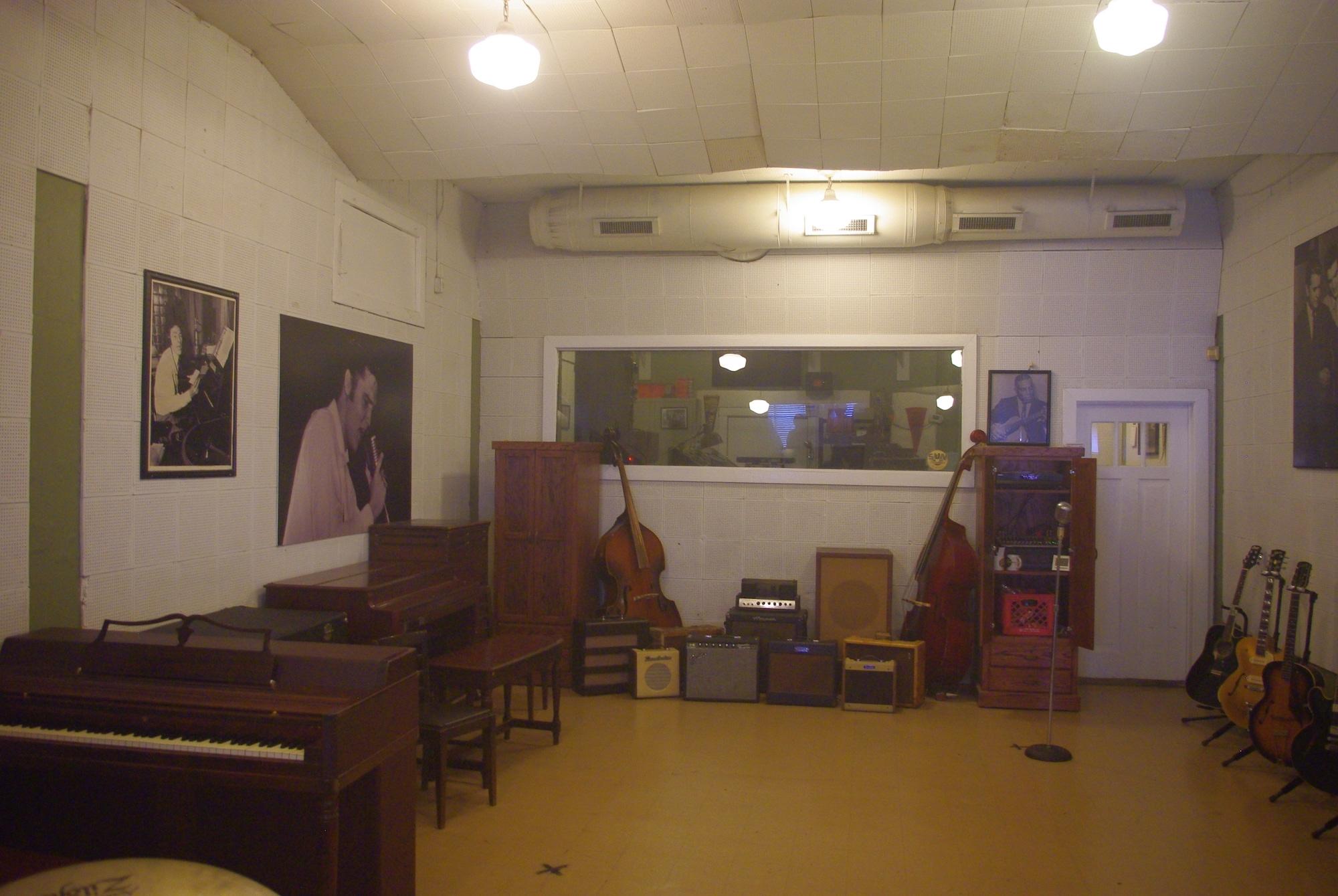 Le studio d'enregistrement historique. Impressionnant !