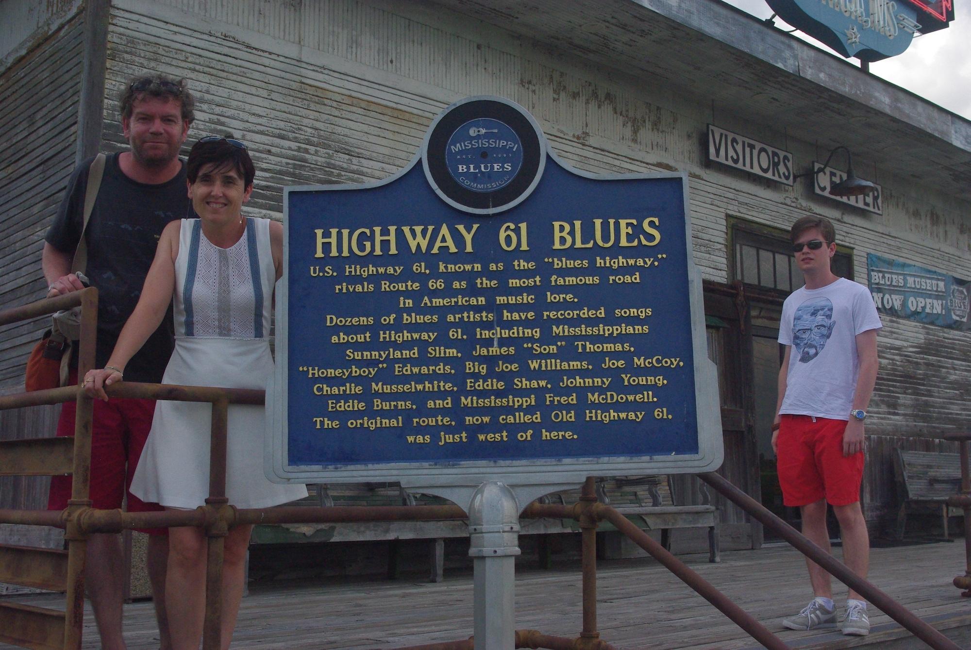 Arrêt au musée du blues à Tunica