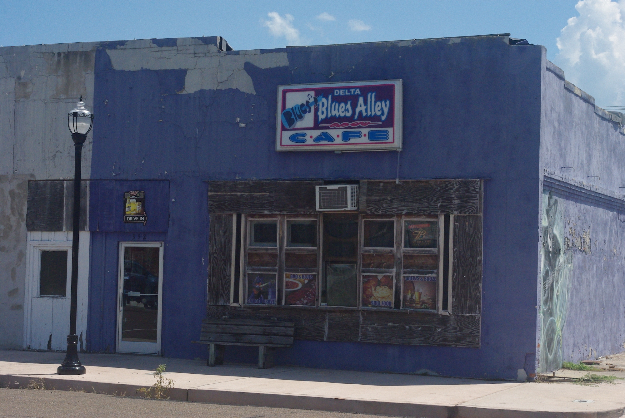 Un café blues