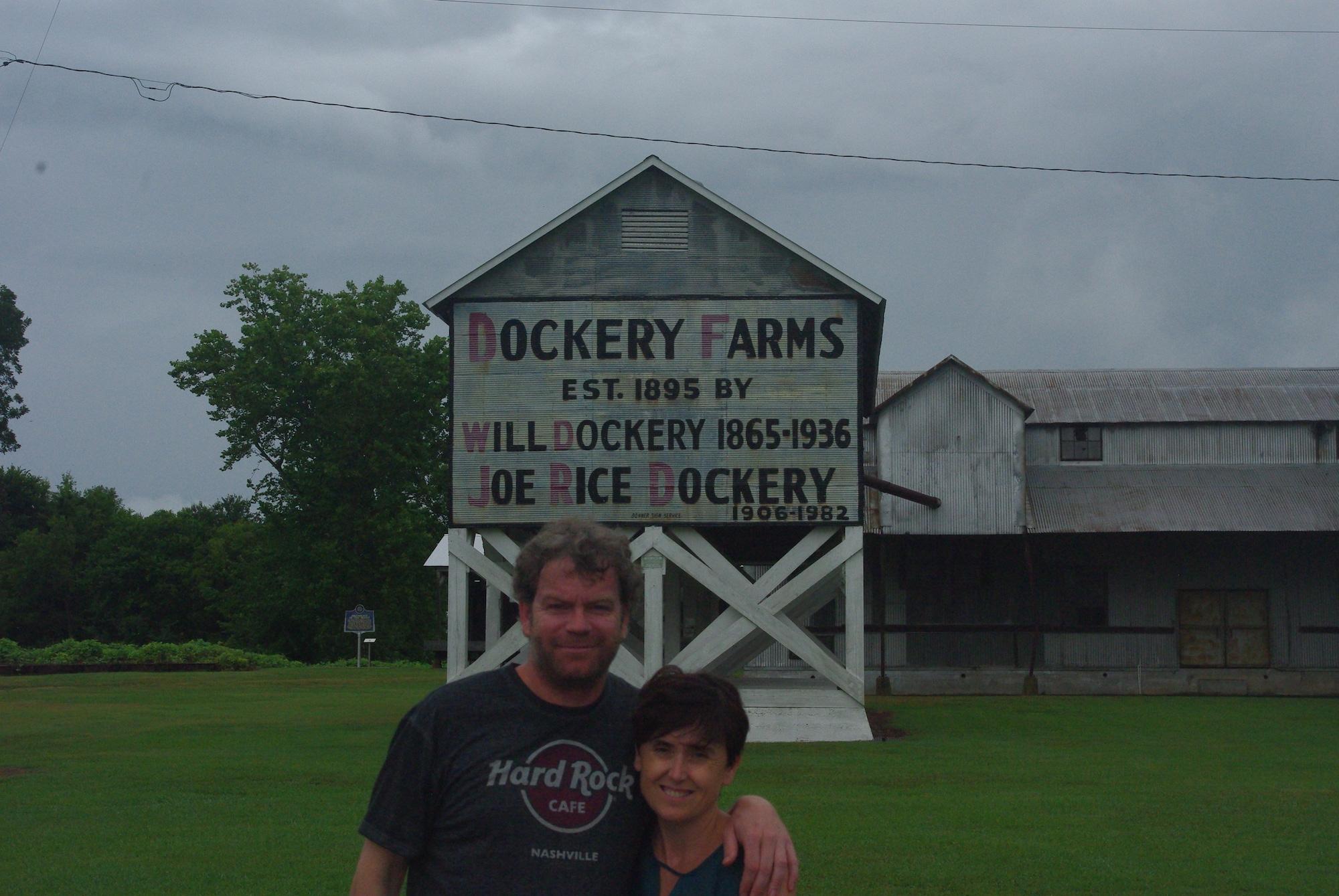 Dockery farms. La plantation n'est plus en activité. Haut lieu du blues.