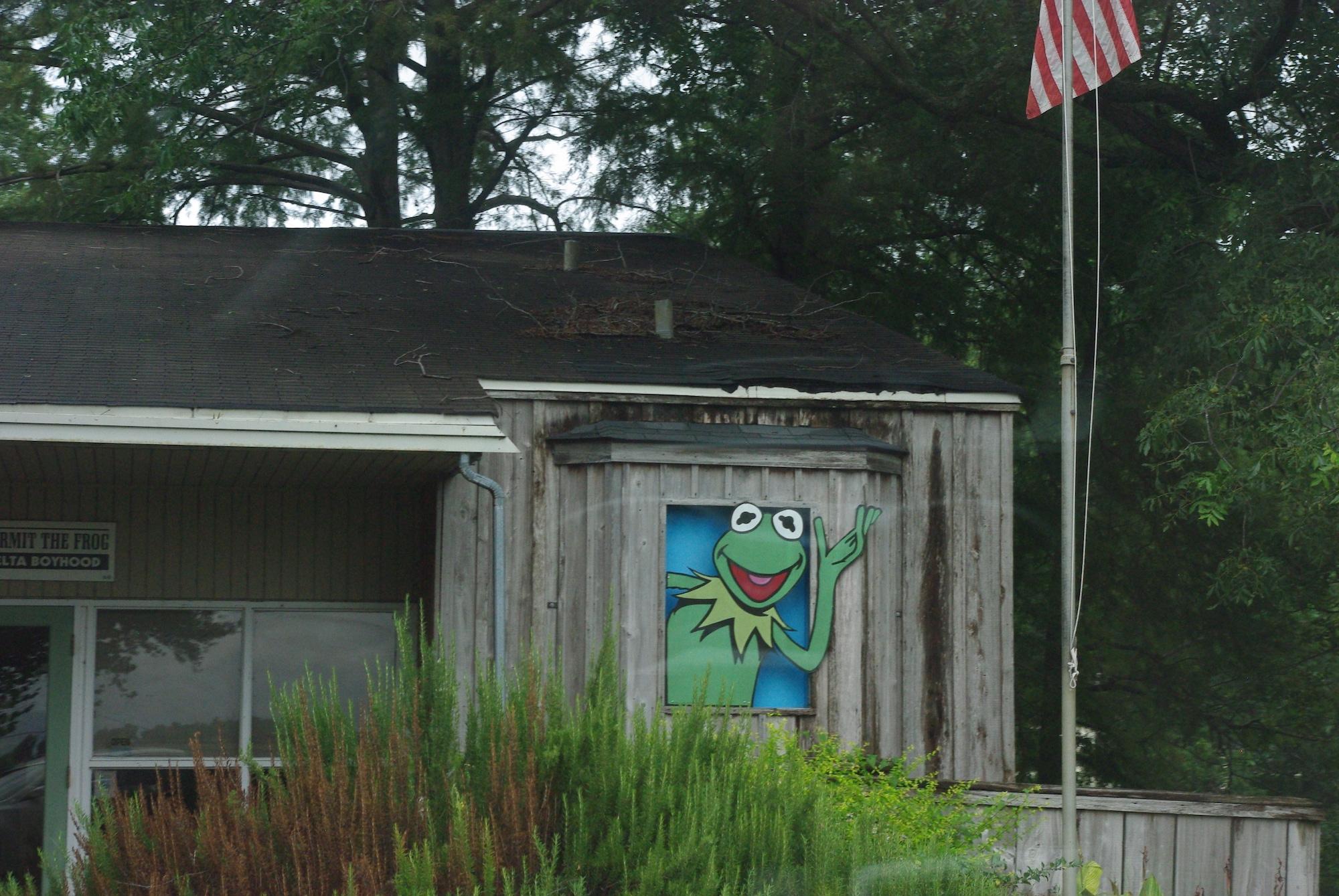 La ville de Leland est entre autre la ville du créateur de Kermit la grenouille