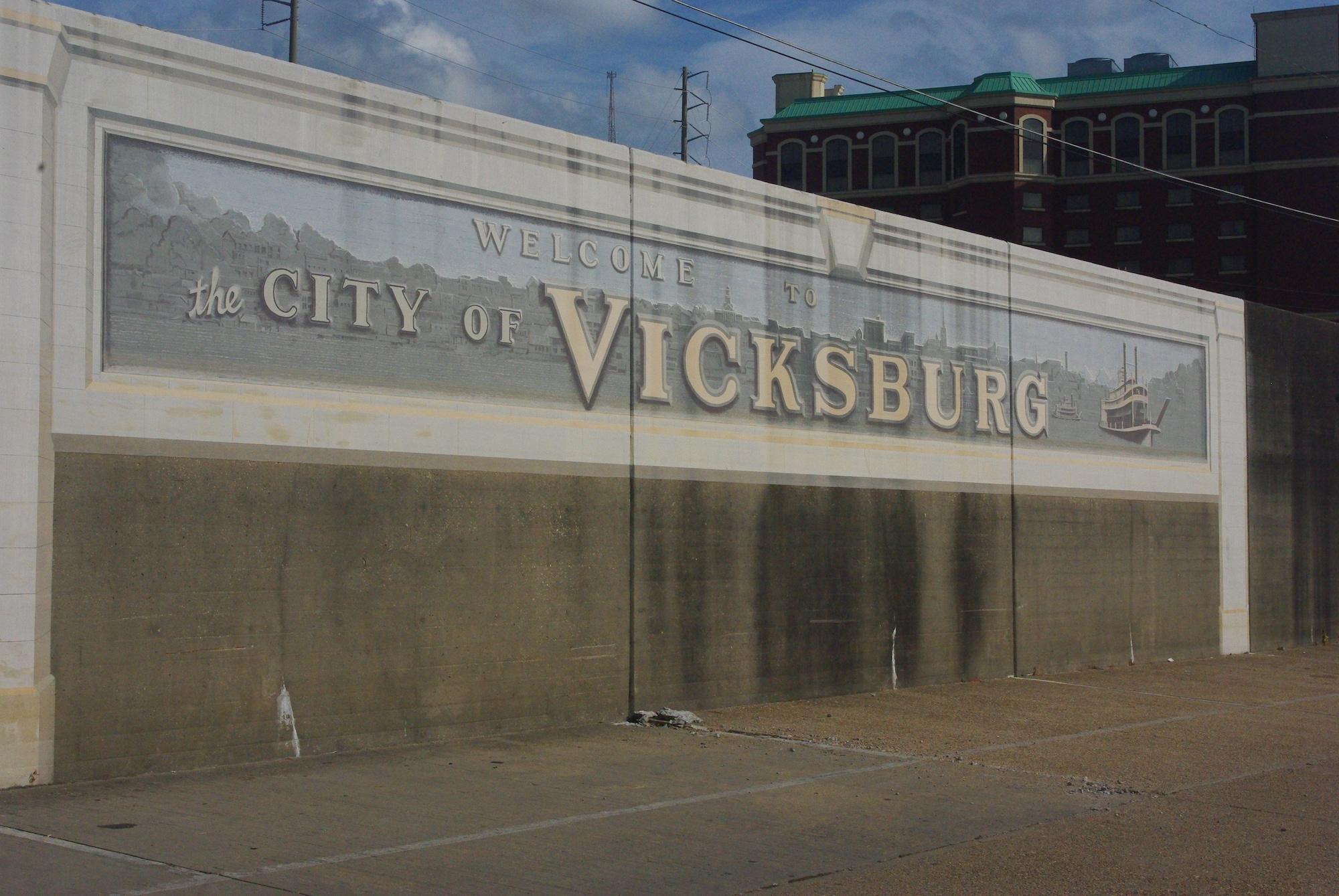 Vicksburg, au bord du Mississippi