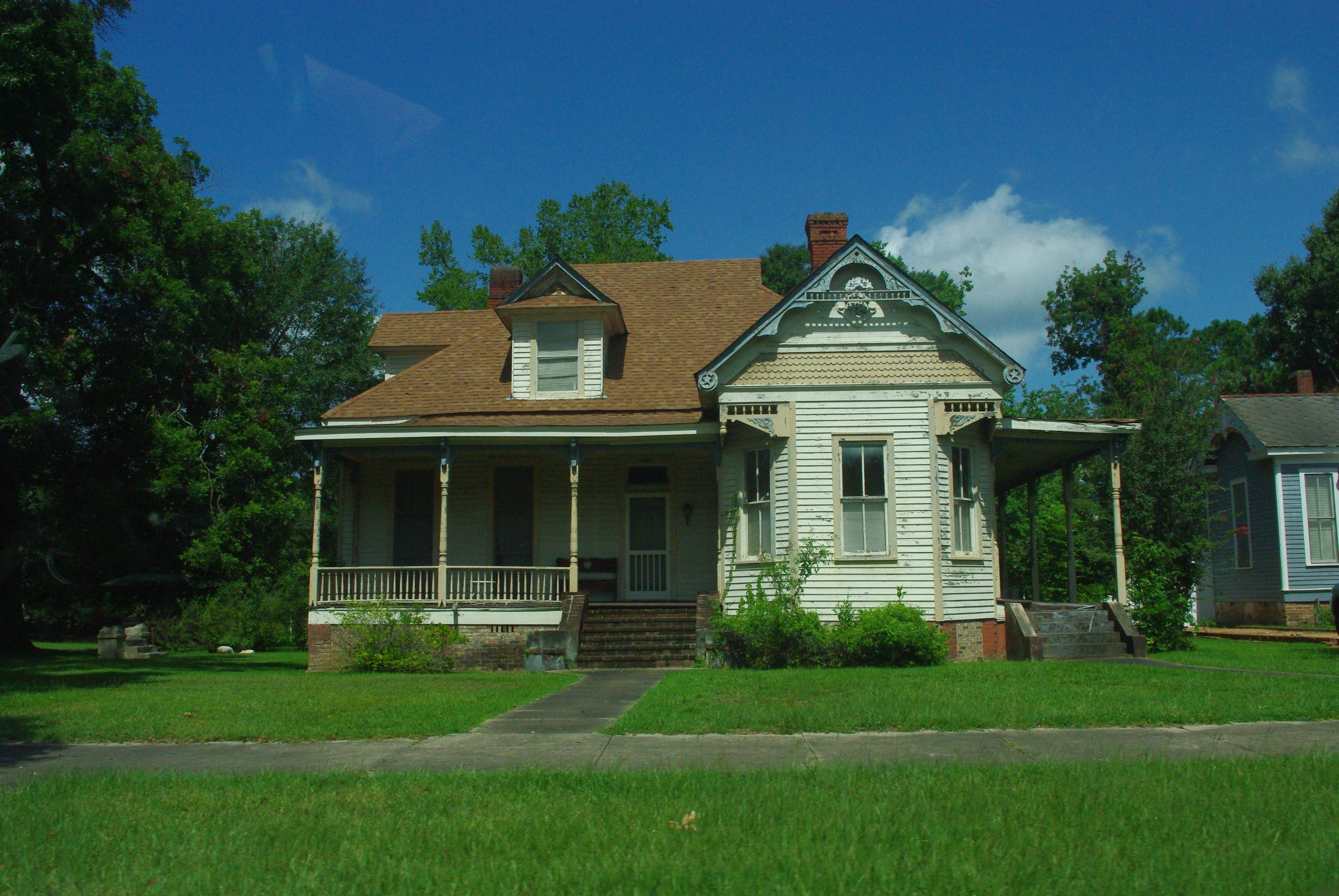Quelques belles maisons sur la route