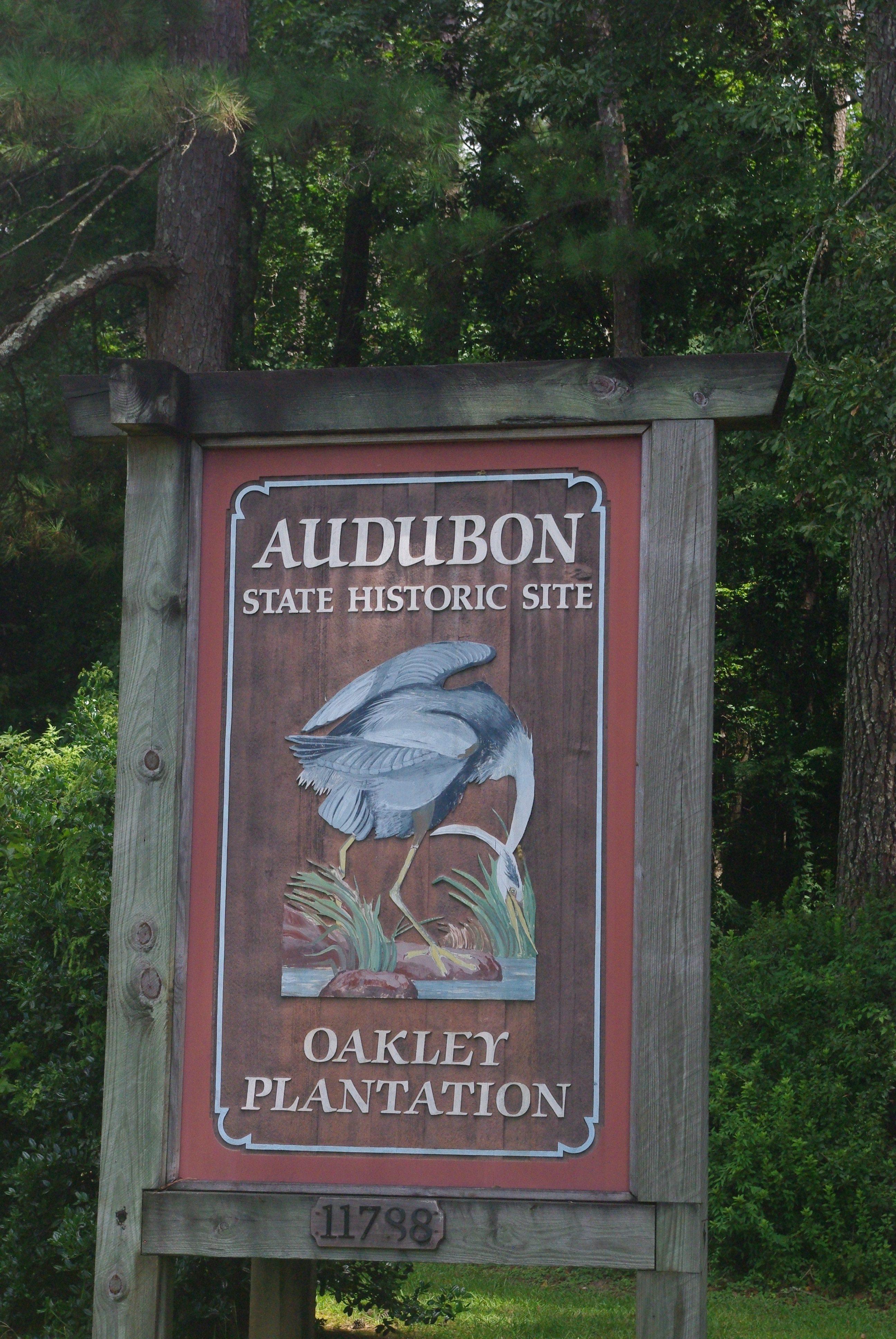 L'entrée de la plantation Oakley