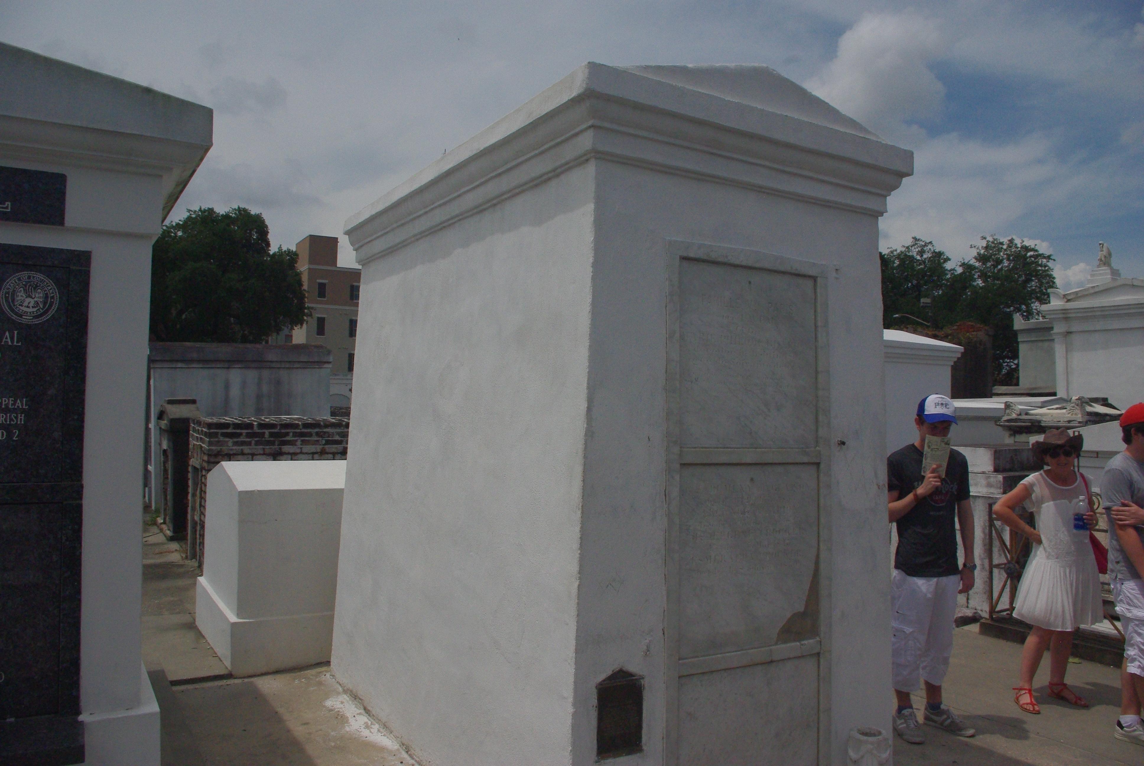 La tombe de Marie Levaux