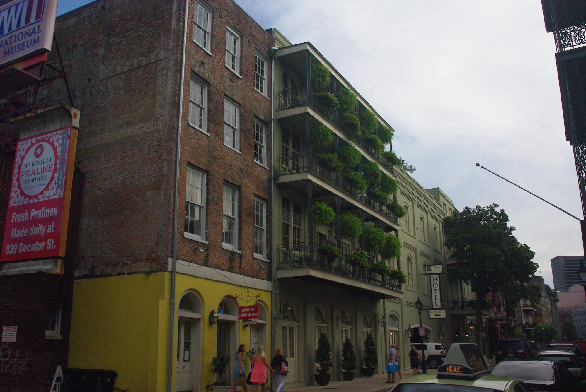 Toujours de splendides bâtiments