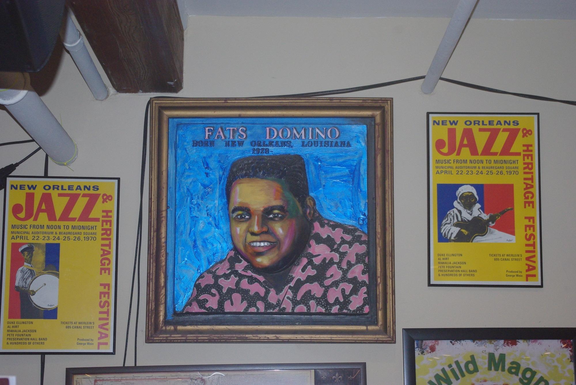 La Nouvelle Orléans c'est aussi la ville de Fats Domino (Blueberry Hill)