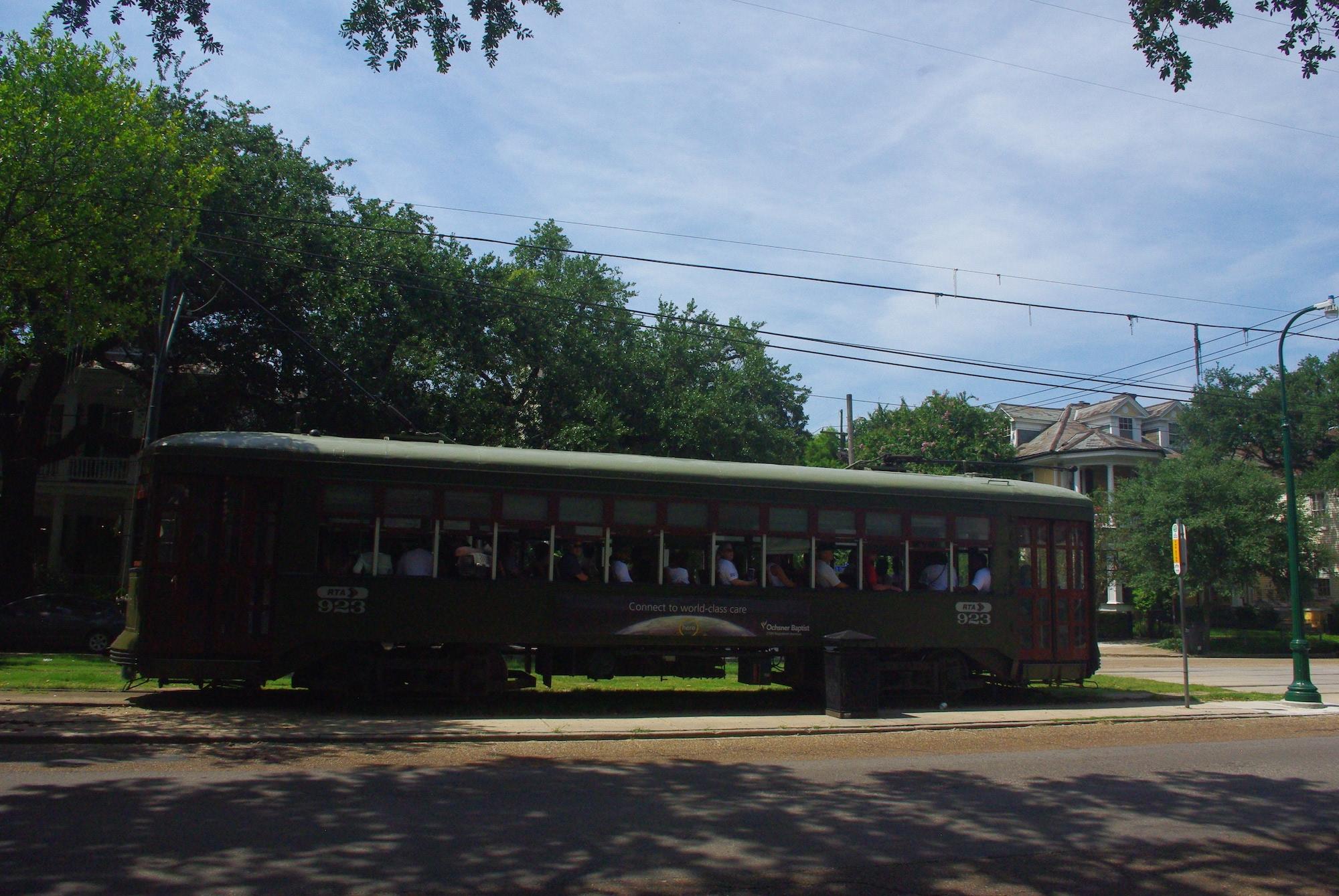 Le fameux tramway de la ligne St Charles (nommé Desire donc) qui passait à côté de chez Tennessee Williams