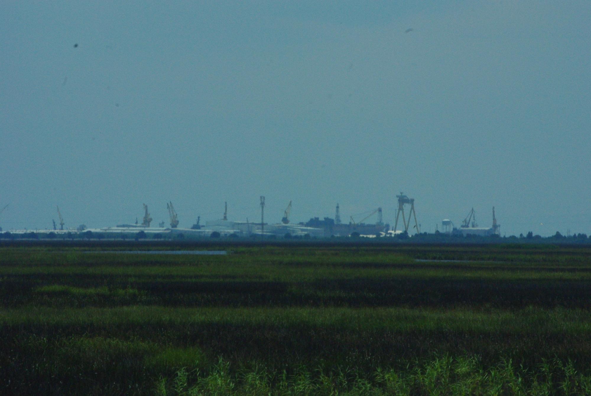 Le Mississippi c'est aussi des champs de pétrole