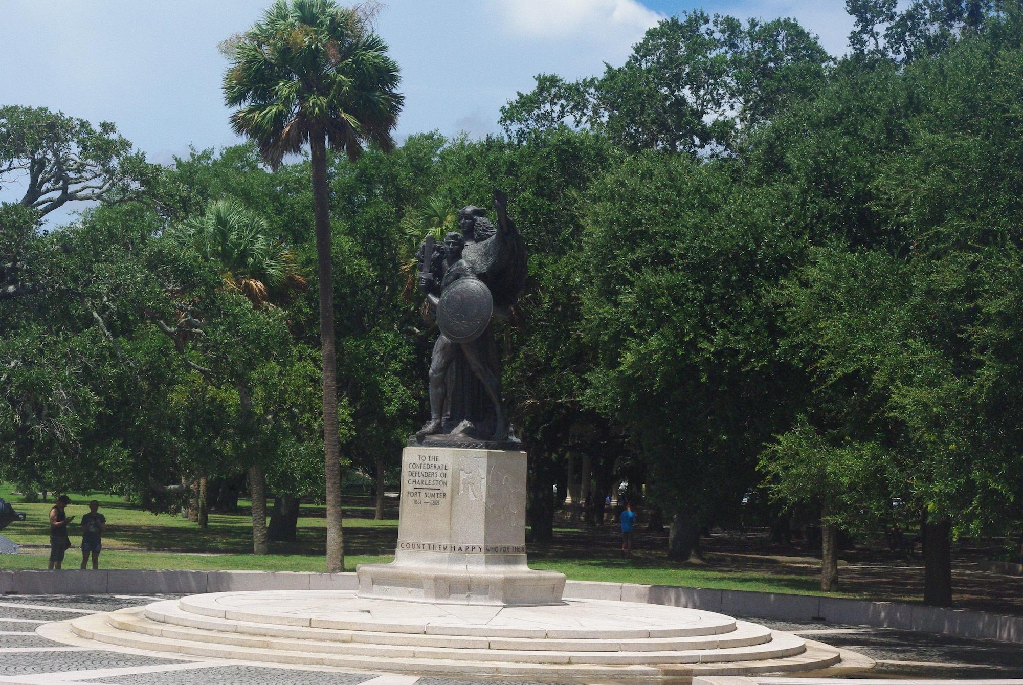 Une commémoration de la bataille de fort Sumter
